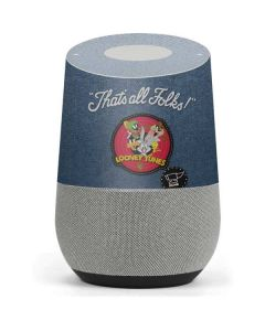 Thats All Folks Patch Google Home Skin