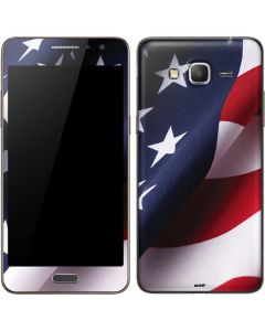 The American Flag Galaxy Grand Prime Skin