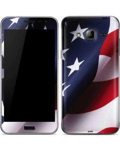 The American Flag Galaxy J3 Skin