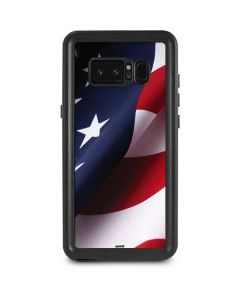 The American Flag Galaxy Note 8 Waterproof Case