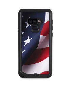 The American Flag Galaxy Note 9 Waterproof Case