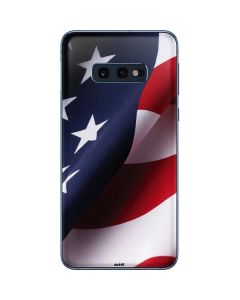 The American Flag Galaxy S10e Skin