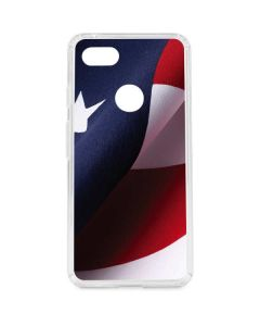 The American Flag Google Pixel 3 XL Clear Case