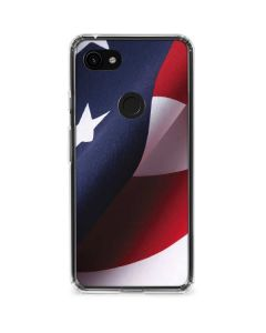 The American Flag Google Pixel 3a Clear Case
