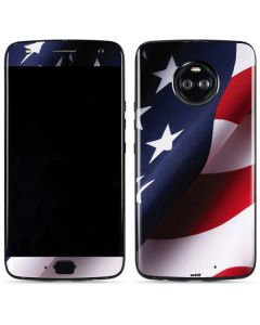 The American Flag Moto X4 Skin