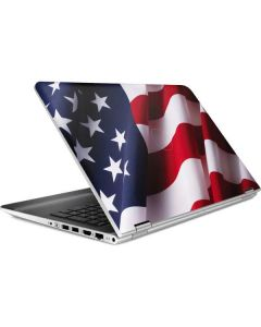 The American Flag HP Pavilion Skin