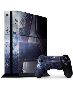 The Avengers Logo PS4 Console and Controller Bundle Skin
