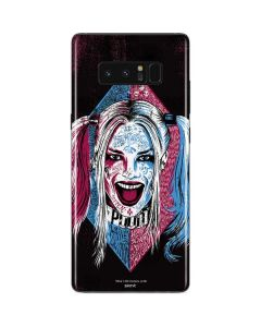 The Bubbly and Psychotic Harley Quinn Galaxy Note 8 Skin