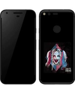 The Bubbly and Psychotic Harley Quinn Google Pixel Skin