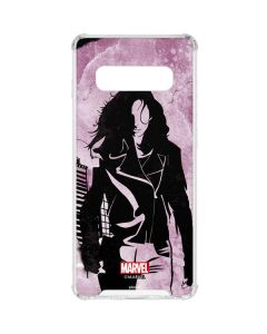The Defenders Jessica Jones Galaxy S10 Clear Case