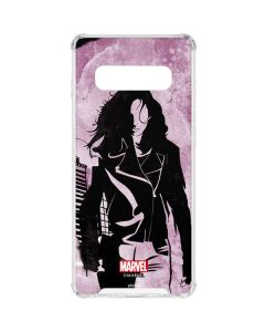 The Defenders Jessica Jones Galaxy S10 Plus Clear Case