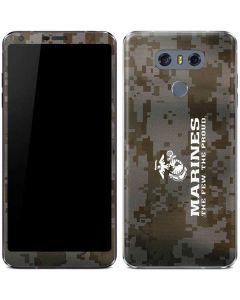 The Few The Proud Camo Marines LG G6 Skin