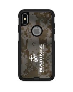 The Few The Proud Camo Marines Otterbox Commuter iPhone Skin