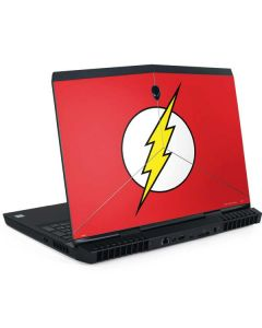 The Flash Emblem Dell Alienware Skin