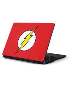The Flash Emblem Samsung Chromebook Skin
