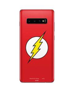 The Flash Emblem Galaxy S10 Plus Skin