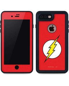 The Flash Emblem iPhone 8 Plus Waterproof Case