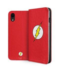 The Flash Emblem iPhone XR Folio Case