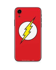 The Flash Emblem iPhone XR Skin