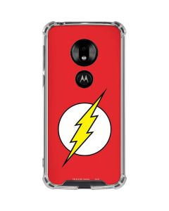 The Flash Emblem Moto G7 Play Clear Case