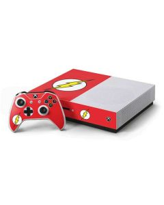 The Flash Emblem Xbox One S Console and Controller Bundle Skin