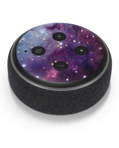 The Fox Fur Nebula Amazon Echo Dot Skin
