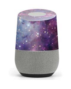 The Fox Fur Nebula Google Home Skin