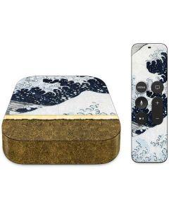 The Great Wave off Kanagawa Apple TV Skin