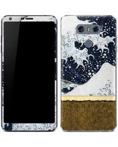 The Great Wave off Kanagawa LG G6 Skin