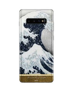 The Great Wave off Kanagawa Galaxy S10 Plus Skin