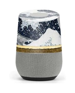 The Great Wave off Kanagawa Google Home Skin