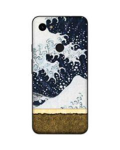 The Great Wave off Kanagawa Google Pixel 3a Skin