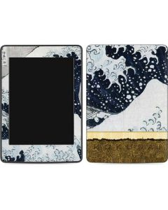 The Great Wave off Kanagawa Amazon Kindle Skin