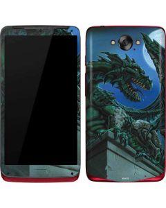 The Green Dragon Motorola Droid Skin