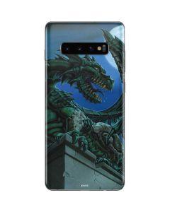 The Green Dragon Galaxy S10 Plus Skin