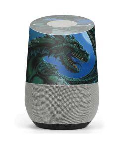 The Green Dragon Google Home Skin