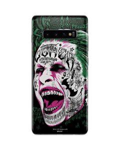 The Joker Maniacal Laugh Galaxy S10 Plus Skin