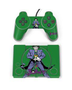 The Joker Portrait PlayStation Classic Bundle Skin