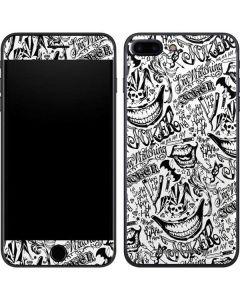 The Jokers Tattoo Print iPhone 7 Plus Skin