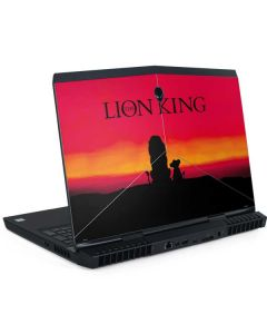 The Lion King Dell Alienware Skin