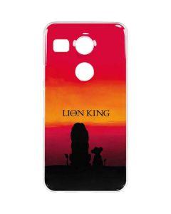 The Lion King Google Nexus 5X Clear Case