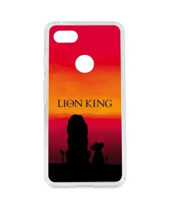 The Lion King Google Pixel 3 XL Clear Case