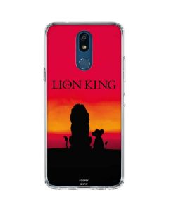 The Lion King LG K30 Clear Case