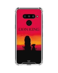 The Lion King LG V50 ThinQ Clear Case