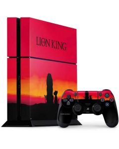 The Lion King PS4 Console and Controller Bundle Skin