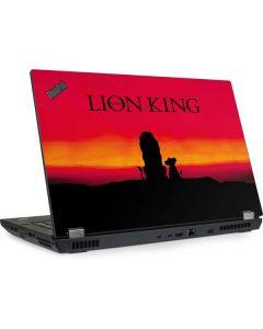 The Lion King Lenovo ThinkPad Skin