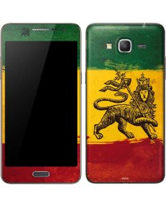 The Lion of Judah Rasta Flag Galaxy Grand Prime Skin
