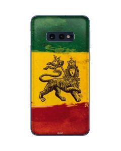 The Lion of Judah Rasta Flag Galaxy S10e Skin