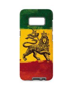 The Lion of Judah Rasta Flag Galaxy S8 Pro Case