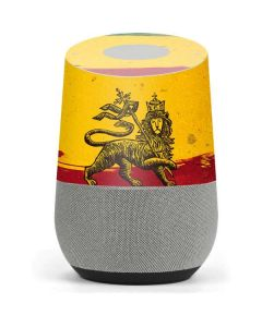 The Lion of Judah Rasta Flag Google Home Skin